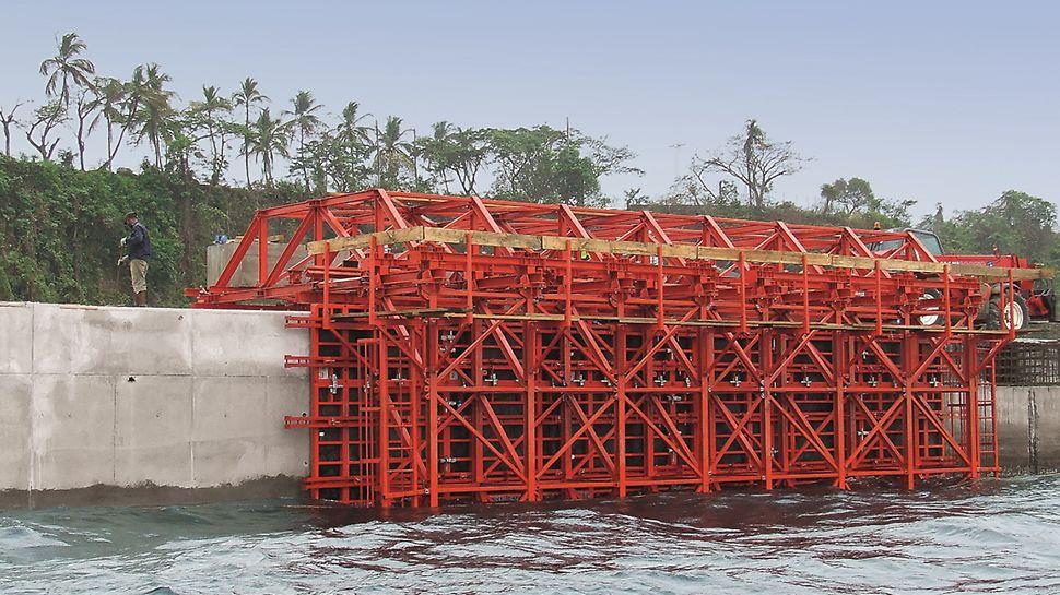 Cais Maritimo de Port Malabo - Vista geral