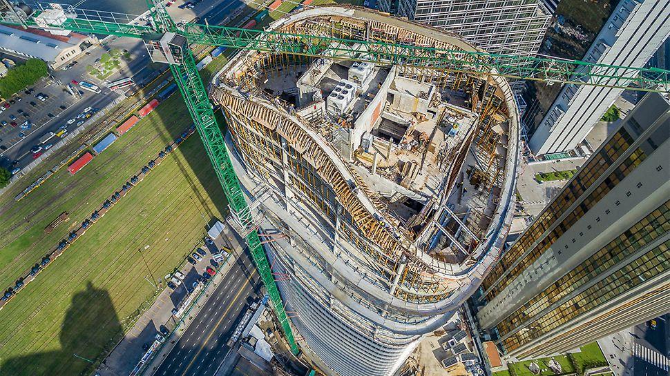 Die Formensprache moderner Architektur stellt höchste Ansprüche an die Bauausführung.