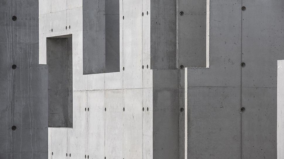 Concrete House: Normaalgezien wordt DUO gebruikt om kleinere geometrische structuren te vormen als een efficiënt alternatief voor zwaardere bekistingsystemen. Dit project heeft echter aangetoond dat het DUO systeem tot meer in staat is. (Foto: seanpollock.com)