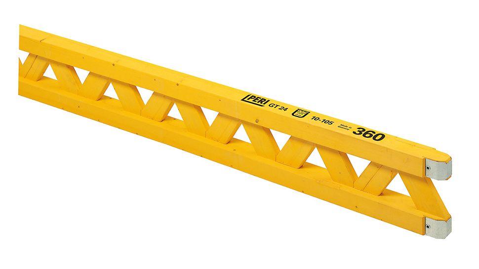 GT 24 Schalungsträger: The versatile lattice girder with high load-bearing capacity Den alsidige gitterdrageren med høy lastkapasitet. PERI forskaling domino Trio Quatro søyle panel dekke vegg