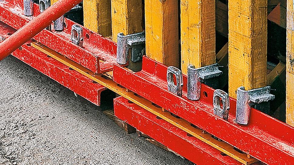 Langen Foundation: Použitím sepnutí VARIO GT 24 pro pohledový beton mohlo být docíleno spojení bednicích desek jednotlivých panelů bez výstupků.