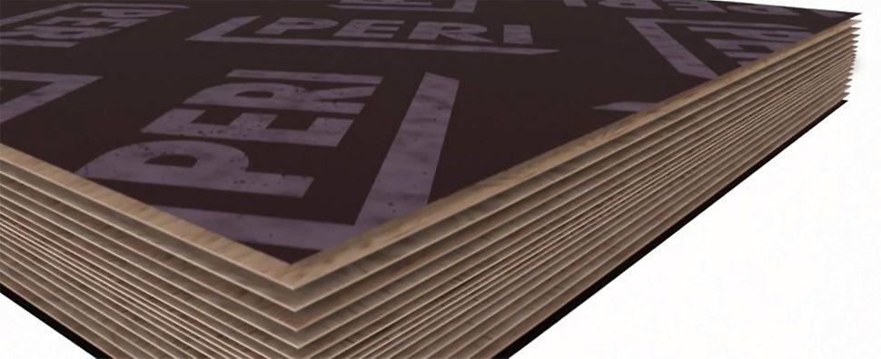 PERI Sperrhölzer und Holzwerkstoffe sind standardmäßig in vielen Qualitäten und Ausführungen lieferbar. Insbesondere Plattenstärken, Plattengrößen und Beschichtungen sind den lokalen Marktanforderungen angepasst.