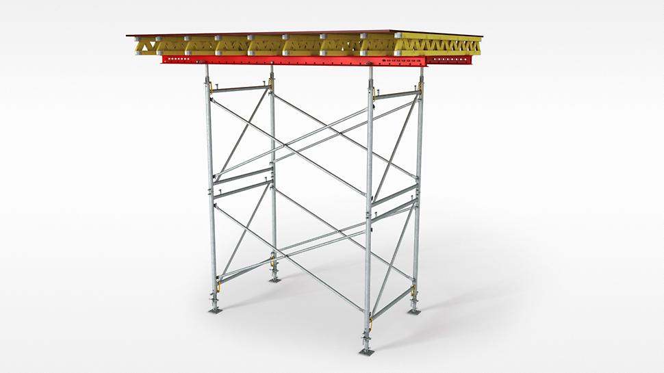 PERI PD 8: ekonomična nosiva skela za stropne stolove i visoka opterećenja.