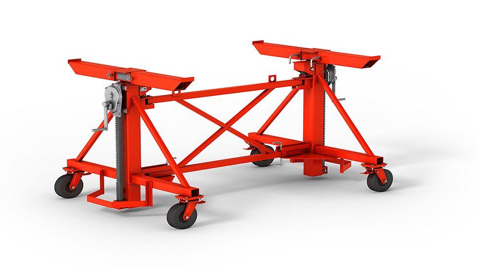 Wózek transportowy - wygodne i szybkie przemieszczanie stołów stropowych