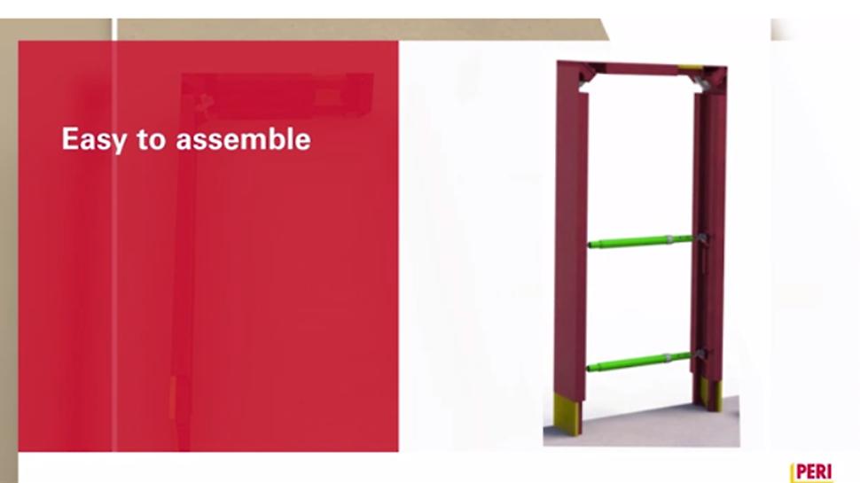 De Timron deur- en raamuitsparingen zijn eenvoudig te monteren.