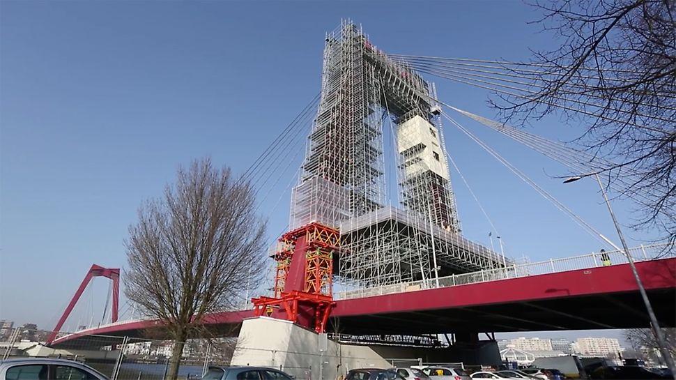 Willemsbrücke, Rotterdam, Niederlande