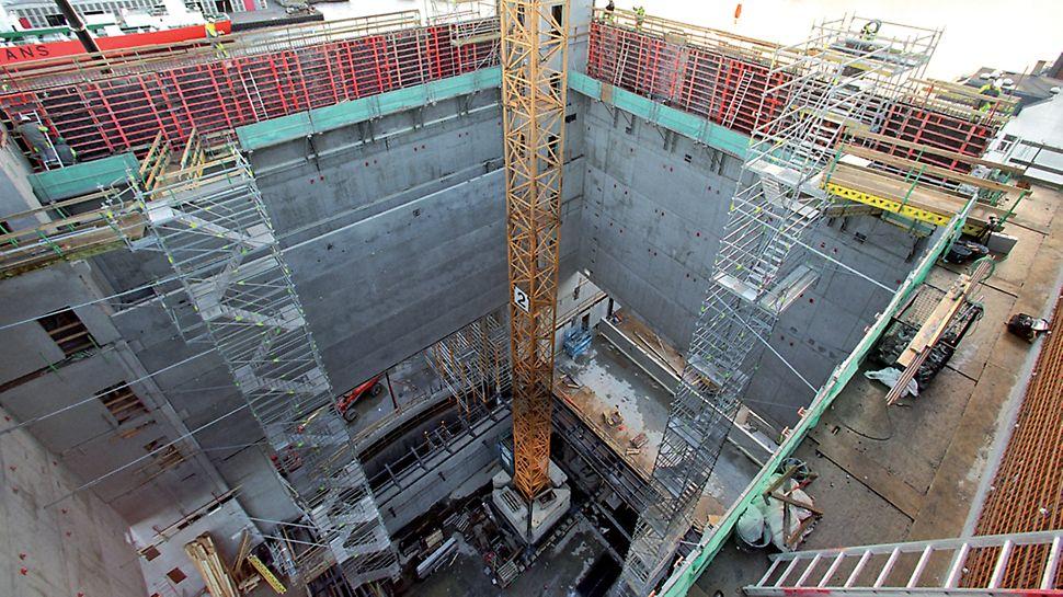 Operahuset - PERI UP Rosett Flex Trappetårn 75 cm Alu