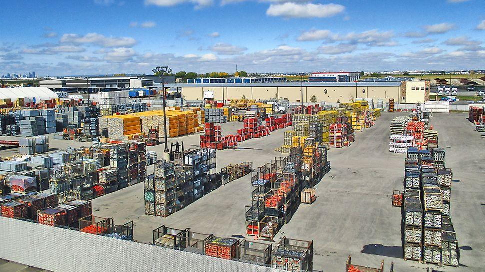 PERI Canada Stockyard