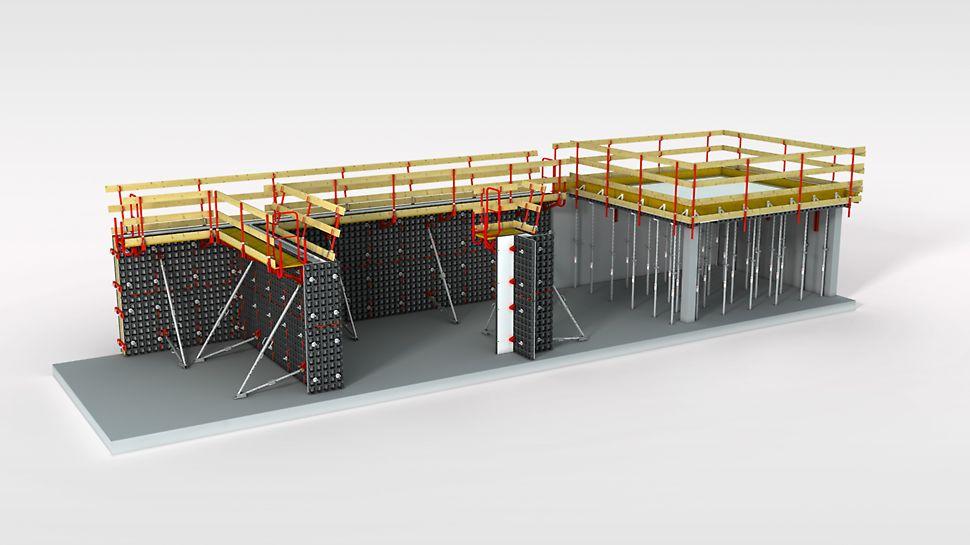 Lagana univerzalna oplata za zidove, stupove i stropove