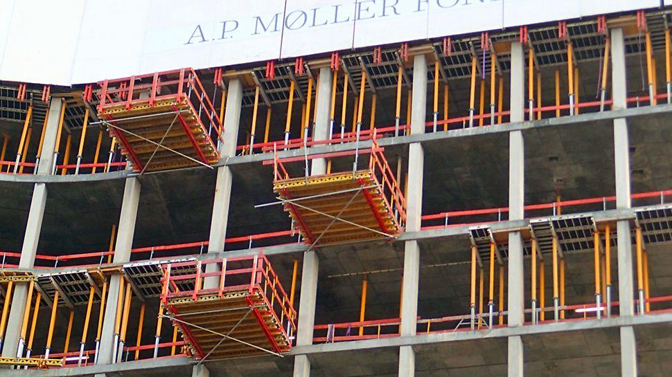 Mærsk - RCS MP materielplatforme til hurtig flytning af materiel mellem etagerne