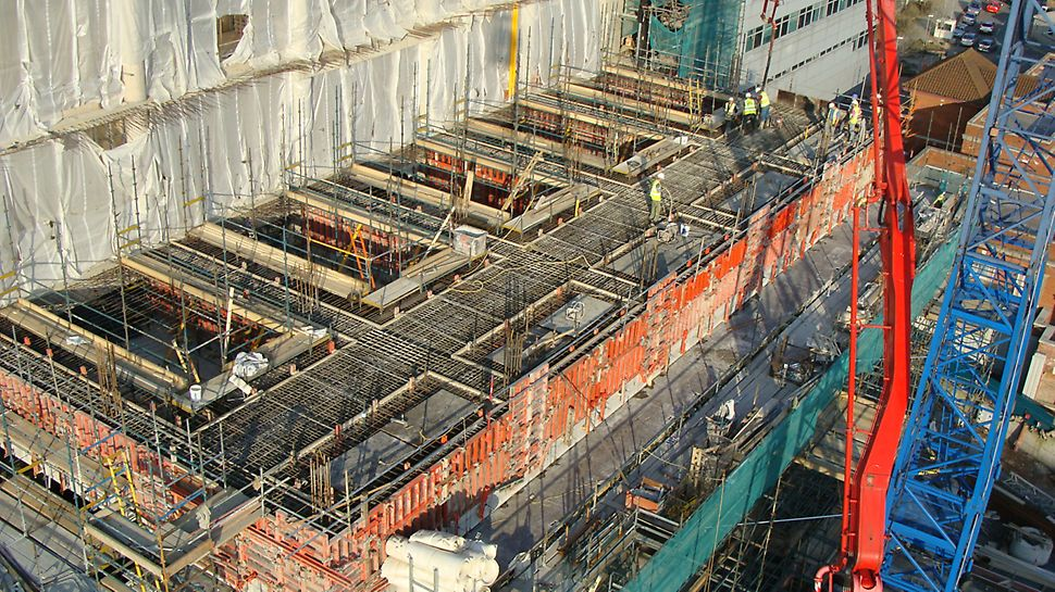 Versatile formwork from PERI, TRIO can be used on both complicated and easy projects, large and small