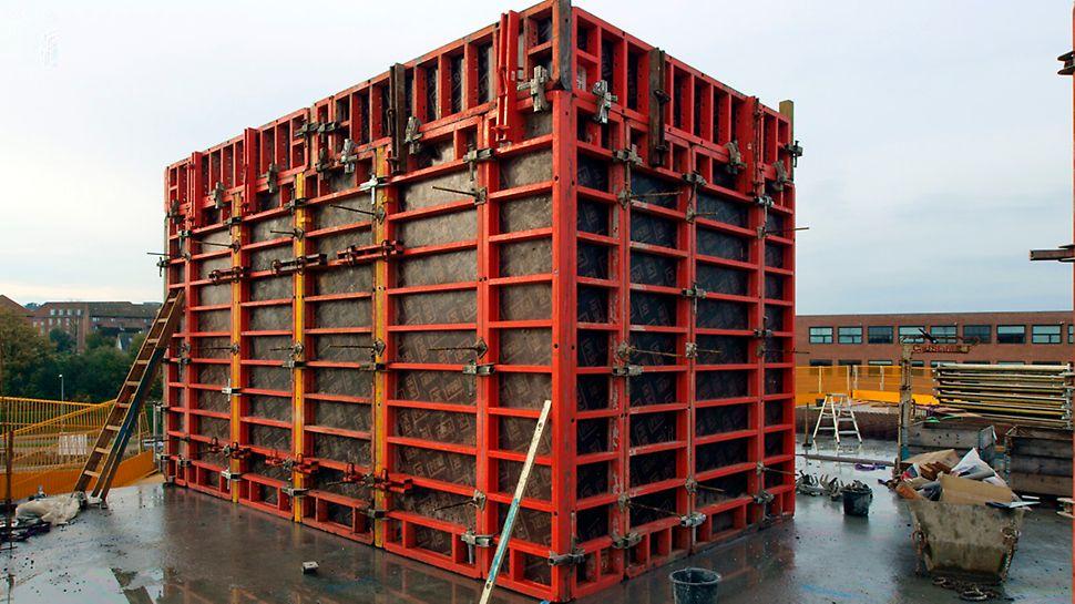 SDU Kolding - TRIO forme til trappeopgang og elevatorkerne.
