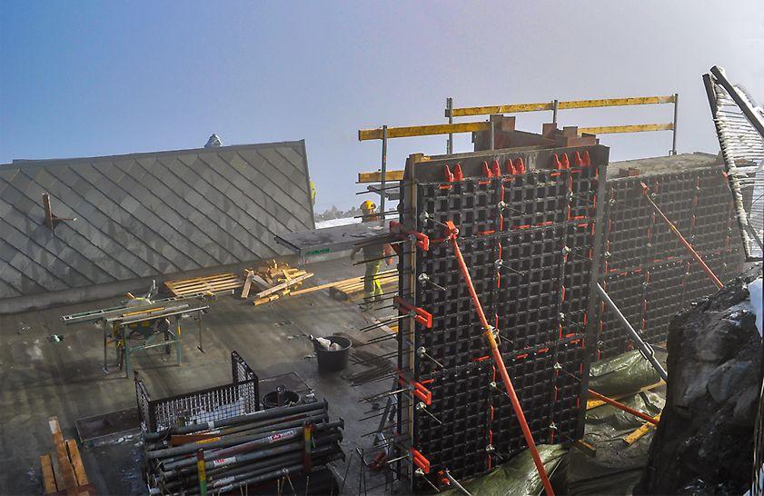 PERI DUO har blitt brukt i prosjektet Dalsnibba i Geiranger