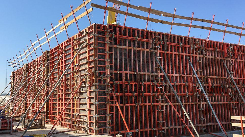 NAU - Arkitekt beton udført med foring af TRIO forme