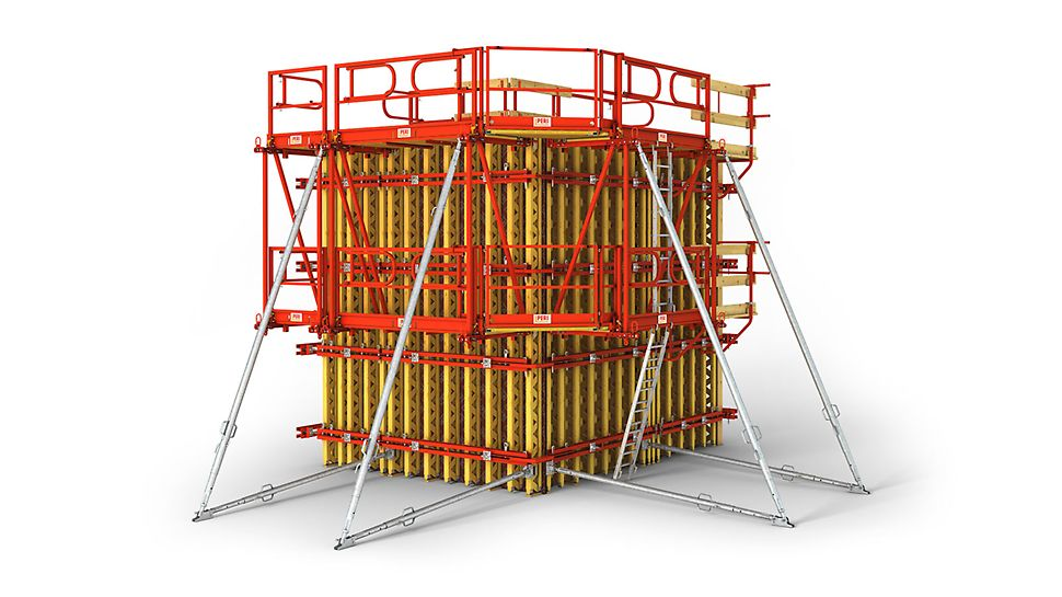 Проектирование и монтаж опалубки VARIO GT 24 точно под проект