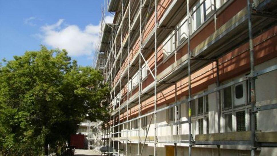 Escola Secundária Josefa de Óbidos - Fachada tipo