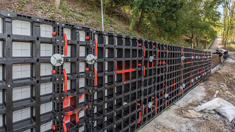 Vielseitige Verwendbarkeit für unterschiedliche Bauvorhaben im Tiefbau
