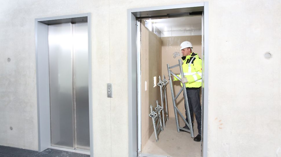 Pojedyncze elementy mają wysokość 50 cm, maksymalną długość 1,50 m i łatwo mieszczą się w każdej windzie.