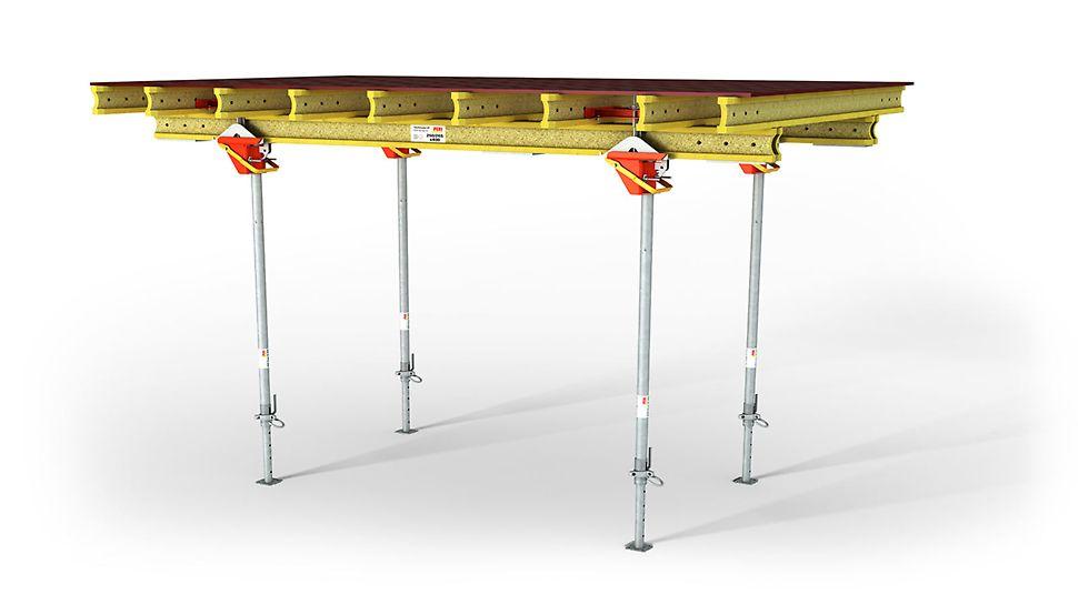 Stoły zaprojektowane zostały szczególnie pod kątem zastosowania w przypadku dużej liczby przestawień.
