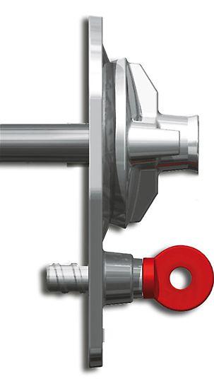 MX 15 vingemøtrik til MAXIMO Vægforskalling