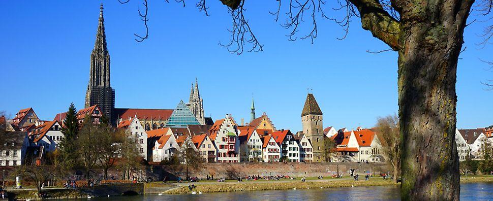 Stadt Ulm mit Ulmer Münster
