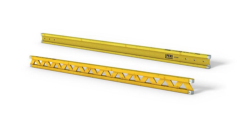 GT 24 a VT 20K: Dřevěné bednicí nosníky jsou rozhodujícím faktorem rentability projektů bednění