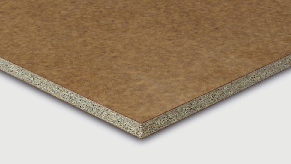Die PreFab Pur RS ist eine saugende Schalungsplatte basierend auf einem Holzwerkstoffträger mit homogenem Quellverhalten.