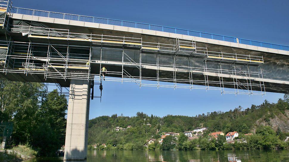 Sanace mostu přes Vltavu, Davle