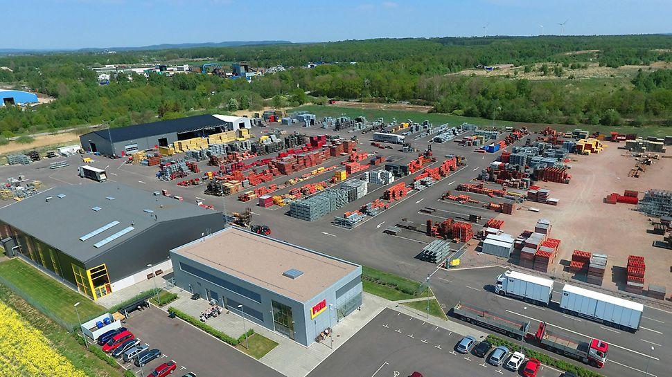 PERI Sverige AB - Huvudkontor och lager i Halmstad