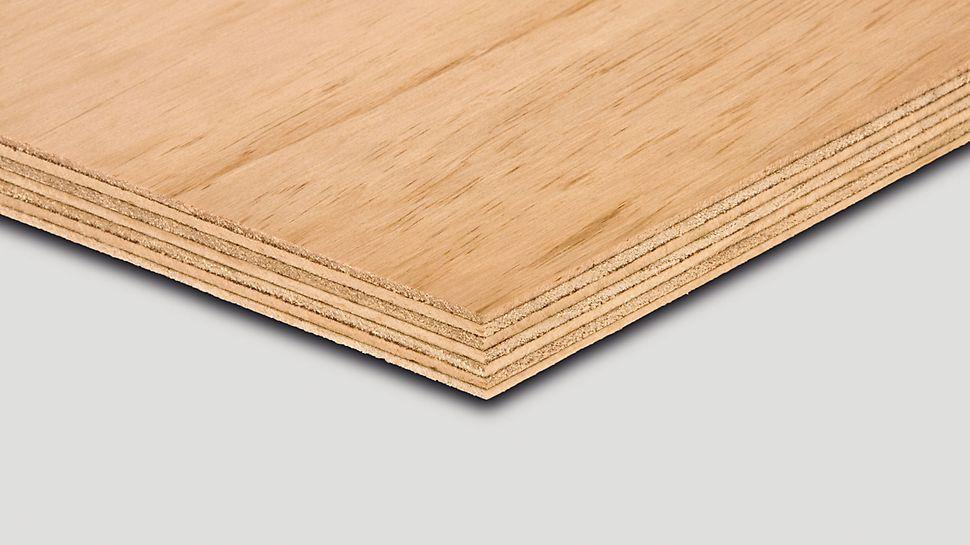 PERI Radiata Pine je šperploča od bora i koristi se za drvene konstrukcije, proizvodnju nameštaja i  sajamskih eksponata.