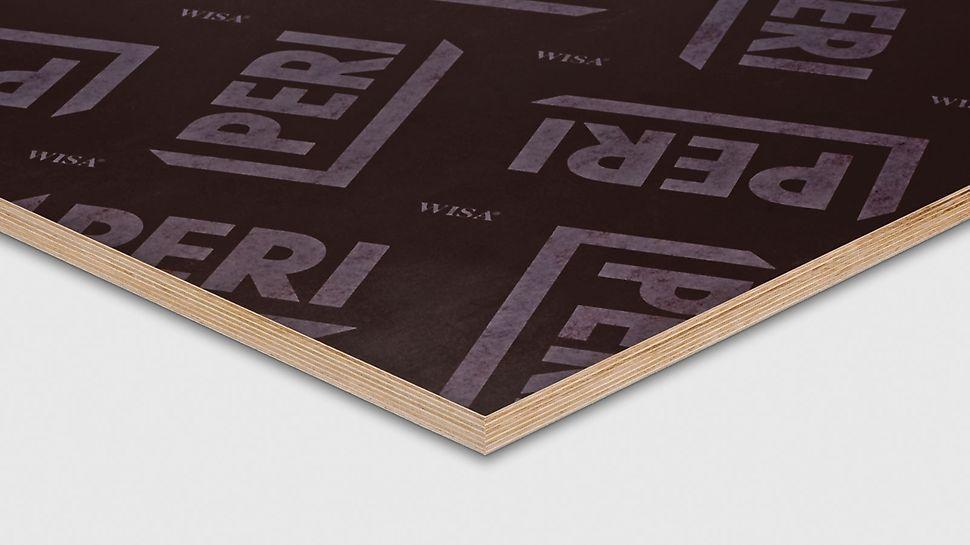 PERI FinPly Platte für Schalungssysteme für glatte Sichtbetonanwendungen.