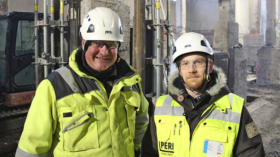 Kari Suomala, E.M.Pekkinen Oy ja Jesse Julin, PERI Suomi Ltd Oy