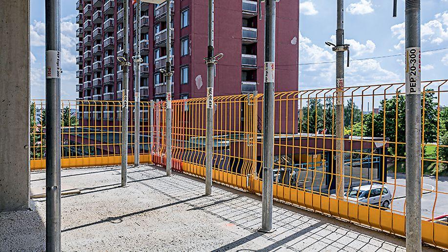 Bytový projekt ByTy Malešice 2. etapa, Praha Jako na jedné z prvních staveb u nás zde byl nasazen i bezpečnostní systém PROKIT.