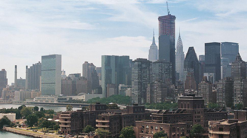 Trump World Tower III, New York, USA: Trump World Tower vytváří svou impozantní výškou 258 m a luxusním vybavením nový vzhled New Yorku.