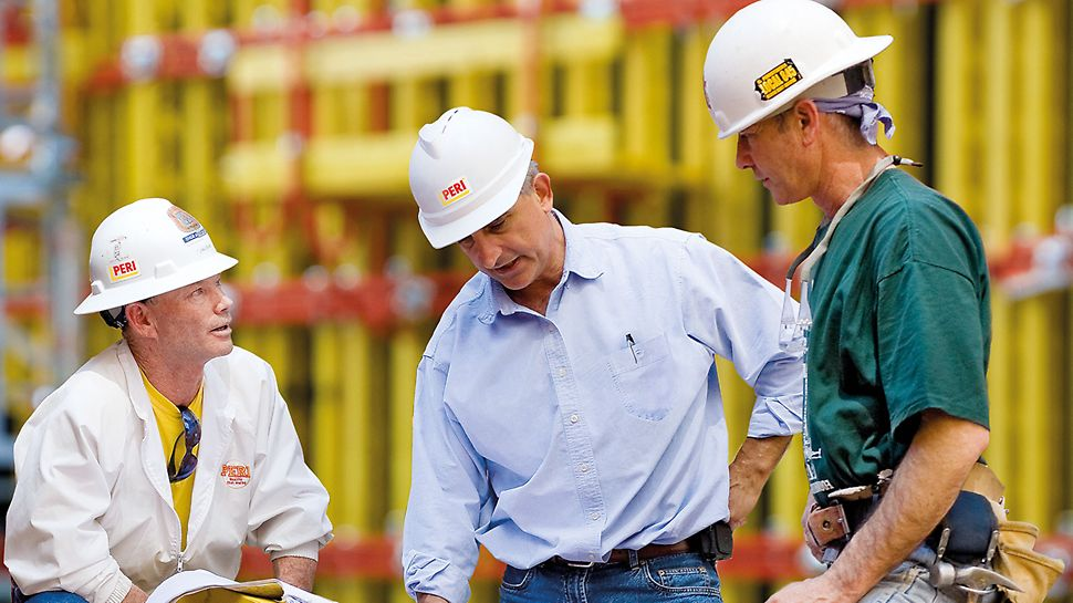 PERI engineering stands for analysis and optimization of integrated processes around formwork and scaffolding.