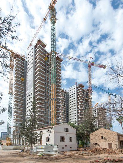 מגדלי שרונה תל אביב - שולחנות לביצוע מרפסות