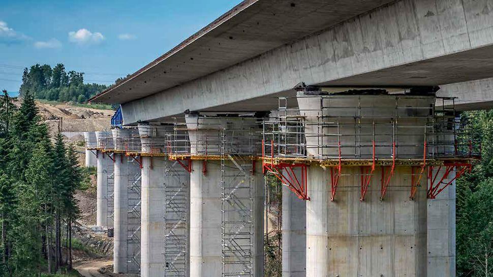 Schnellstraße S7, Abschnitt I Lubień – Rabka-Zdrój, Polen | Umfangreiches Service- und Produktangebot für den Projekterfolg