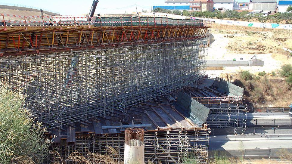 Eixo Norte/Sul Lisboa - Faseamento construtivo da colocação dos módulos.