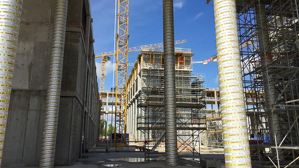 Nyt Ålborg Universitetshospital under opførelse