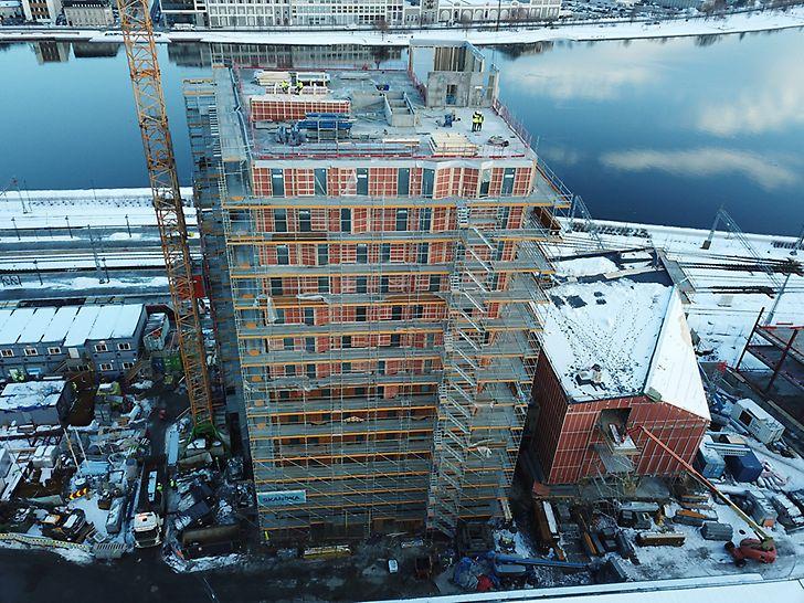 Quality Hotel River Station blirDrammens høyeste bygning