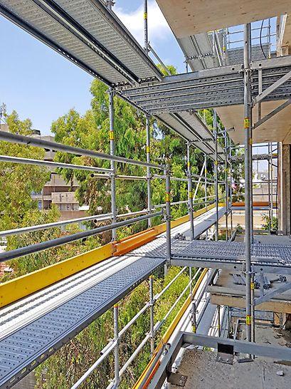 פרי אפ איזי - פיגום מתועש לחזיתות מבנים