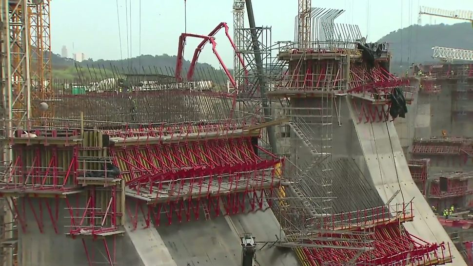 Panama Canal movie from PERI, the formwork and scaffolding supplier