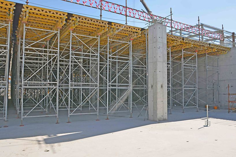 PD8 Shoring system is used for the slabs