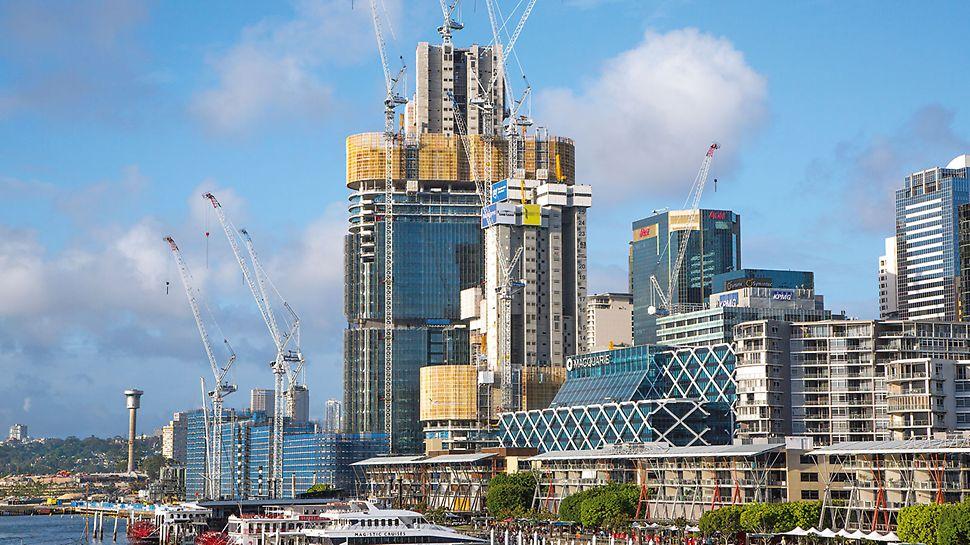Barangaroo South, Sydney - Tri veže výškovej budovy ITS