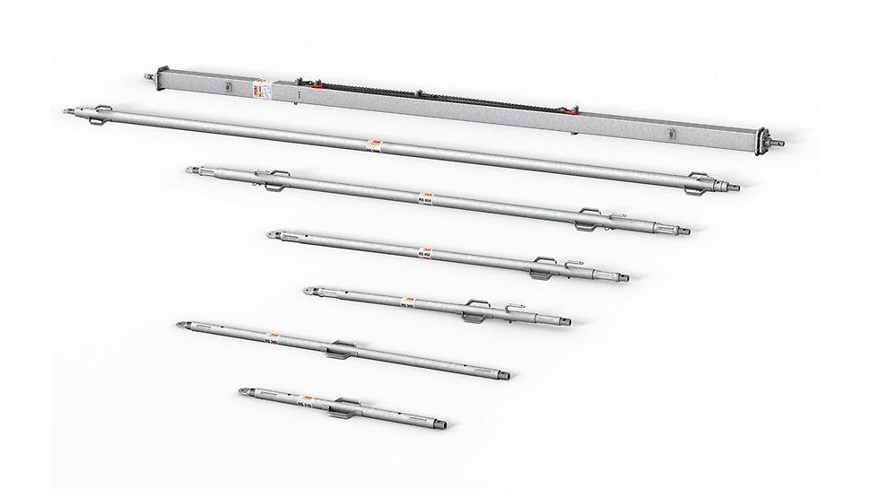 Stabilizátory RS: Kompletní program stabilizátorů až do délky 14,00 m