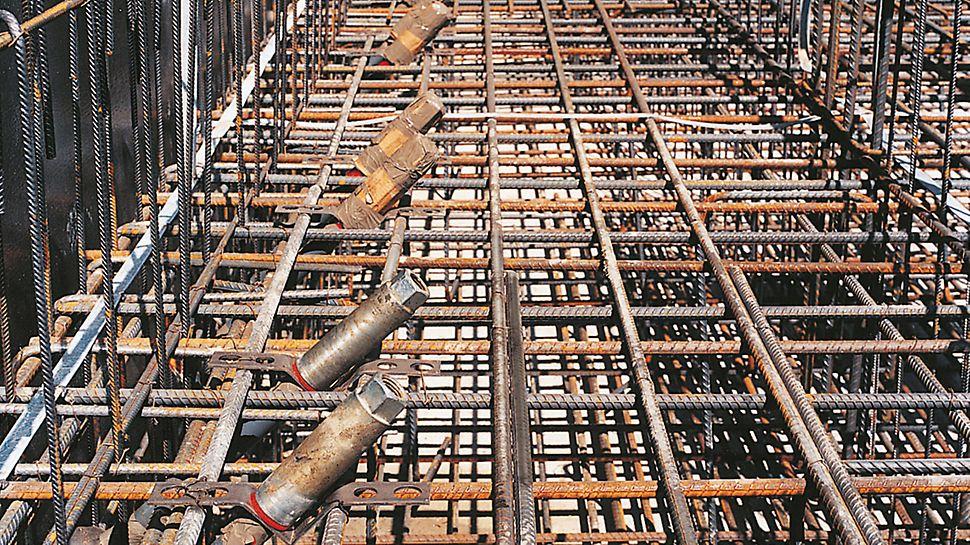PERI V-Ankerhalter zum effizienten Einbau von Ankern beim Einsatz von Stützböcken.