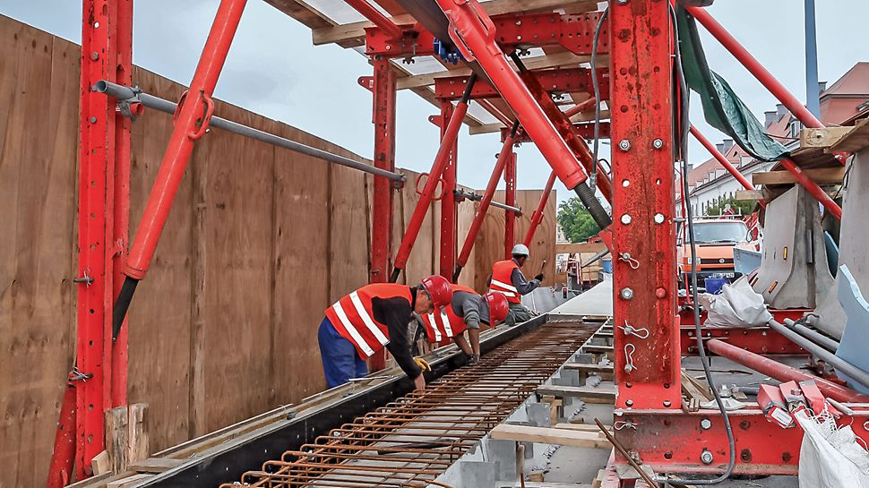 The VGW also provides a cost-effective solution for refurbishment projects. Kantdragervognen VGW gir også en kostnadseffektiv løsning ved rehabiliteringsprosjekter