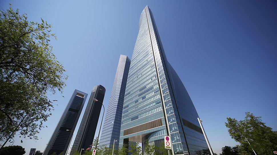 In den Hochhäusern befinden sich Büros, Wohnungen und ein Hotel.