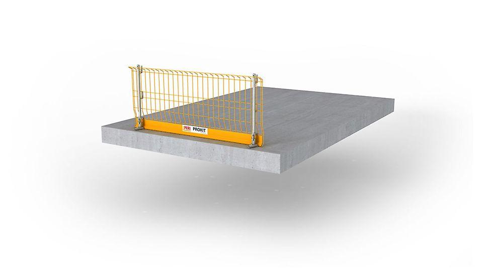 Das Sicherheitssystem für den temporären Seitenschutz