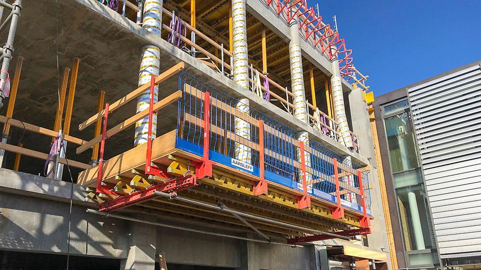 RCS Materiel Platform for nem adgang til underliggende etager